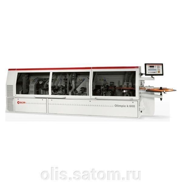 Автоматический кромкооблицовочный станок SCM Olimpic K 600ER2
