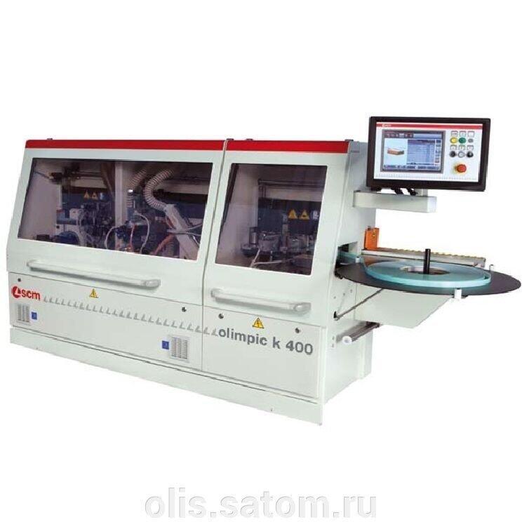 Автоматический кромкооблицовочный станок SCM Olimpic K 400 T-ER1