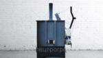 Инсинератор отходов 350кг 0,95м3 дизель