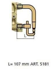 Комплект плеч с водяным охл.L=107мм,D=20мм - TECNA 5181