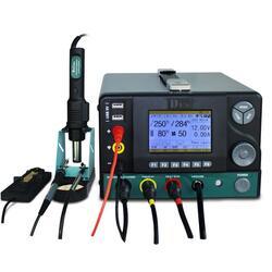 DES H95 5 в 1 Пайка Станция технического обслуживания SMD Паяльная станция Пайка Железная вакуумная вакуумная станция с