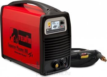 Аппарат плазменной резки TELWIN SUPERIOR PLASMA 100 HF 400V + ACC