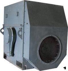 Высоковольтный асинхронный электродвигатель ДАЗО4-400У-4