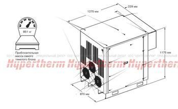 078530 Источник питания: HyPerformance HPR400XD, 600V 60 Hz - CSA