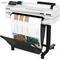 Плоттер HP Designjet T525 (5ZY59A), A1, 24quot;