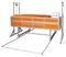 Печь для фьюзинга стекла 200*100*20см с выдвижным поддоном