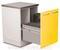 Шкаф медицинский для медицинских отходов ( с 2 выдвижными секциями) МЕДИН