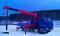 КамАЗ 43118 с КМУ Kanglim KS2056H и буровой навеской