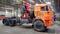 Седельный тягач с КМУ FASSI F245 на шасси КАМАЗ 43118-46