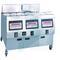 Фритюрница электрическая OFE-323 ATLAS (3 модуля, 3 ванны, цифров панель управления, фильтр, колеса)