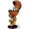 Глобус-бар напольный quot;Атлантquot; (сфера 50 см, вес - 16 кг, размер - 50х50х103 см.), Zoffoli, Италия