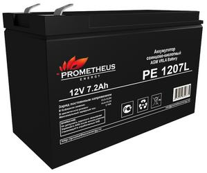 Аккумуляторная батарея Prometheus energy PE 1207L 7 Ah 12V AGM Long life
