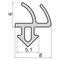 Силиконовые уплотнители для окон и дверей УА ВИГЕ 754120.002