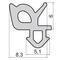 Силиконовые уплотнители для окон и дверей УА ВИГЕ 754120.003