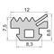 Силиконовые уплотнители для окон и дверей УА ВИГЕ 754120.006