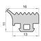 Силиконовые уплотнители для окон и дверей УА ВИГЕ 754120.007