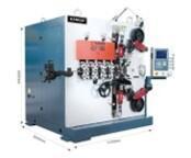 6-осевой высокоскоростной пружинонавивочный станок с ЧПУ KCT-680