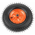 Колесо пневматическое усиленное, шина 8PR, 4.00-8 D400 , внутренний диаметр подшипника 12 , длина оси 90  Palisad