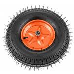 Колесо пневматическое усиленное, шина 8PR, 4.00-8 D400 , внутренний диаметр подшипника 20 , длина оси 90  Palisad