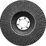 Круг лепестковый торцевой, конический, Р 80,115 х 22,2  Сибртех