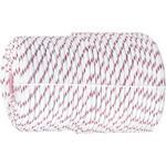 Фал плетёный полипропиленовый с серд., 8 , L 100 м, 16-прядный, Россия Сибртех