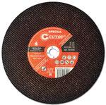 Профессиональный специальный диск отрезной по металлу для резки железнодорожных рельсов Т41-355 х 4,0 х 25,4 мм Cutop Special