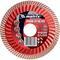 Диск алмазный, отрезной Turbo Extra, 115 х 22,2 , сухая резка Matrix Professional