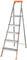 Лестница-стремянка стальная, 5 ступеней, вес 6,65 кг