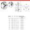 """Патрон токарный d 125 мм 3-х кулачковый тип 3234 DIN 55027 условный конус 3 (аналог Польского) """"CNIC"""" (PS3-125/С3)"""