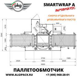 Автоматическая паллетообмоточная машина SMARTWRAP A