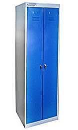 Шкаф металлический одежный
