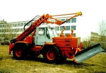 Машины бурильно-крановые ДБКМ-0321
