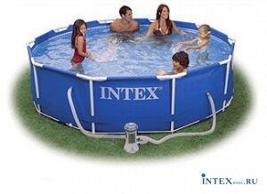 Каркасный бассейн 366x76 см. INTEX 56996