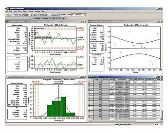 Программное обеспечение статистического контроля технологических процессов