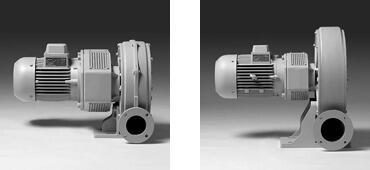 Вентиляторы центробежные Elektror, Cерия HRD (стандартное исполнение)