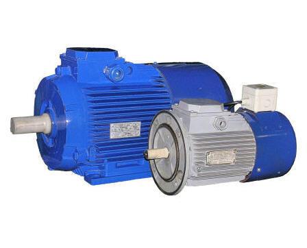 Электродвигатели с пристроенным электромагнитным тормозом