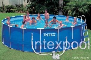 Каркасный бассейн 549х122см. INTEX 57954