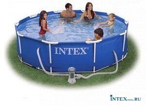 Каркасный бассейн 305х76 см. INTEX 56999
