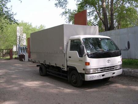 Тенты на грузовик, камаз от Sportstyle
