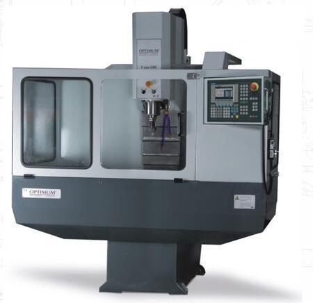 Станок вертикально-фрезерный с ЧПУ F100 CNC, OPTIMUM(Германия)