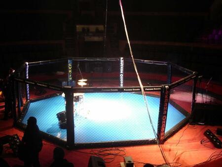 Ринг для боев без правил, клетка ММА РВ1 sportstyle