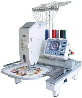 Машина вышивальная профессиональная одноголовочная одноигольная многоцветная  IB-01