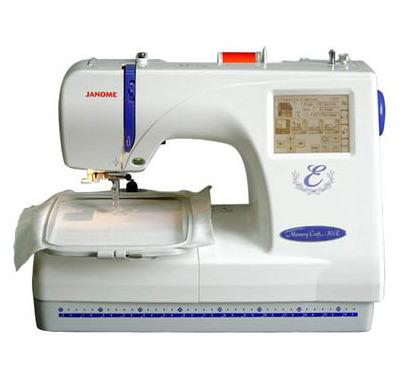 Машина вышивальная Janome MC 300 E