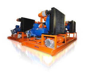 Модульная дегазационная установка, МДУ на базе ротационных насосов с глубоким вакуумом (до 900 мБар)