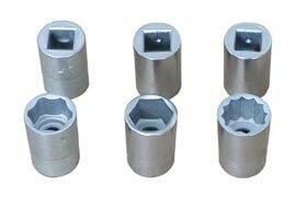 Головки сменные шестигранные (торцовые ключи) ГОСТ 25604-83.