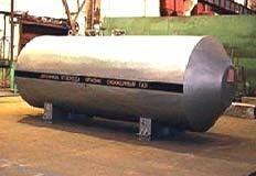Резервуар для хранения жидкой двуокиси углерода