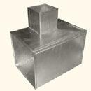 Тройник 90° прямоугольный