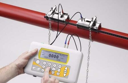 Портативный ультразвуковой расходомер жидкости Portaflow 220