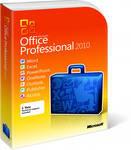 Пакеты программных средств Microsoft Office 2010
