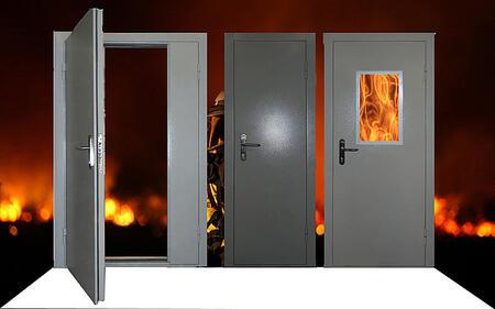Противопожарные двери металлические ДМ,ДПМ